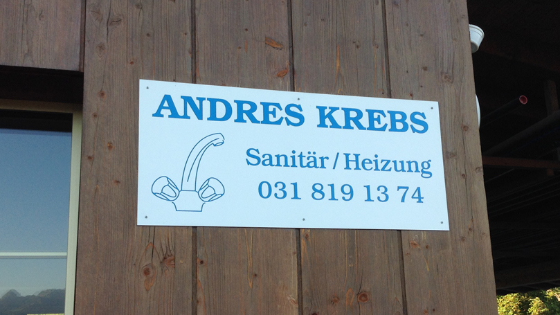 Ihr Fachmann - Andres Krebs Sanitär / Heizung